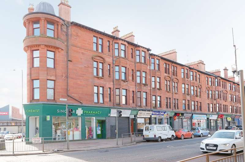 1 Bedroom Flat for sale in Dumbarton Road, Glasgow, G14 0YS