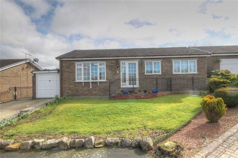 3 Bedrooms Detached Bungalow for sale in Springfields, School Aycliffe, Darlington, DL5