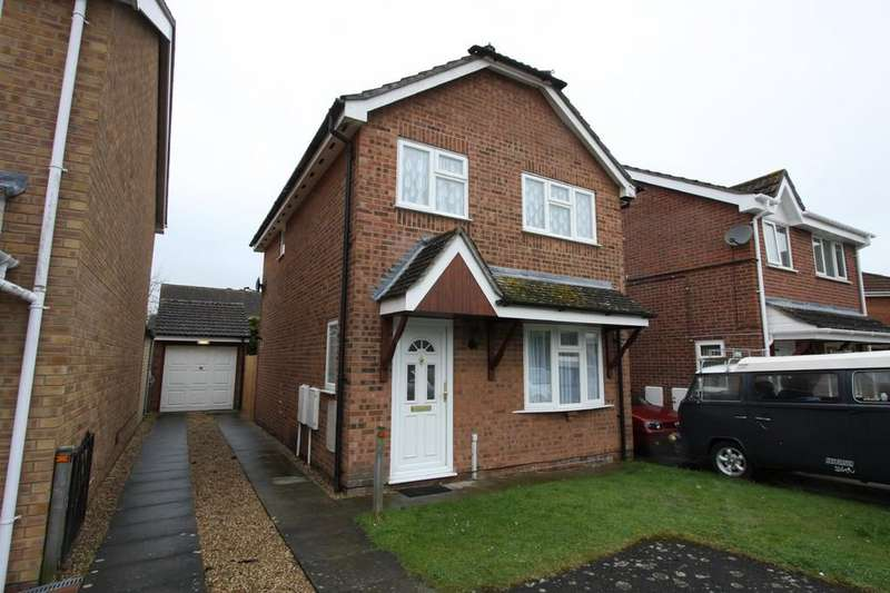 3 Bedrooms Detached House for sale in Guy Cook Close, Great Cornard, Sudbury