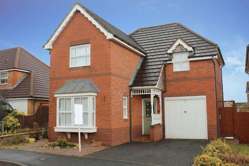 3 Bedrooms Detached House for sale in Ramsey Meadows, Shrewsbury, SY1 4YL