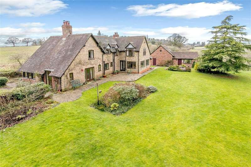 5 Bedrooms Detached House for sale in Ribbesford, Bewdley, Worcestershire
