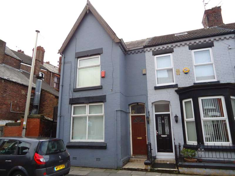 4 Bedrooms End Of Terrace House for sale in Hannan Road, Liverpool