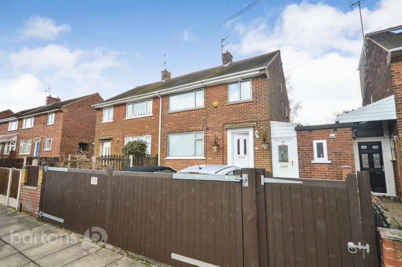 3 Bedrooms Semi Detached House for sale in Redscope Crescent, Kimberworth Park