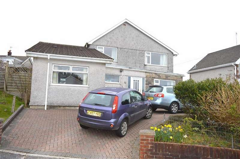 4 Bedrooms Detached House for sale in Dolycoed, Dunvant, Swansea