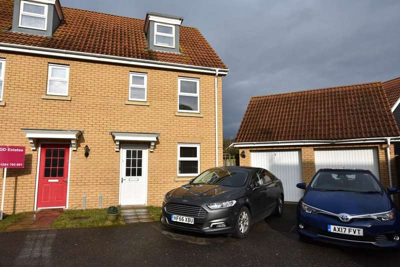 3 Bedrooms Semi Detached House for sale in Selway Drive, Bury St. Edmunds