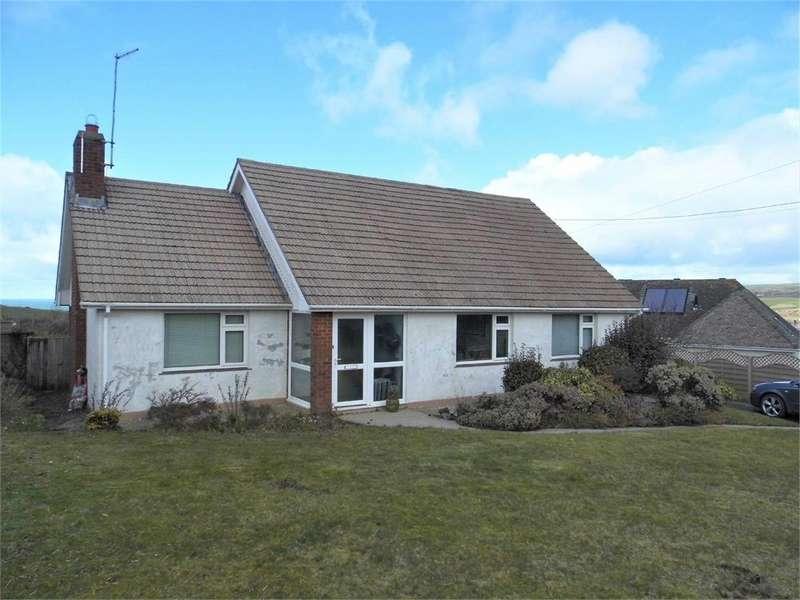 2 Bedrooms Detached Bungalow for sale in Braeside, Feidr Brenin, Newport, Pembrokeshire