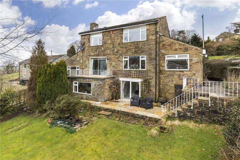 4 Bedrooms Detached House for sale in Moorside, Denholme Road, Oxenhope, Keighley