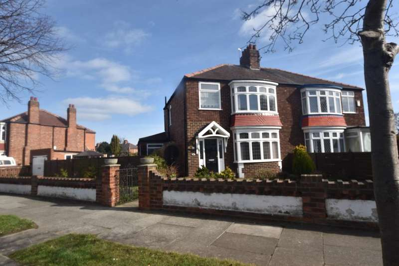 3 Bedrooms Semi Detached House for sale in Windsor Road, Redcar TS10