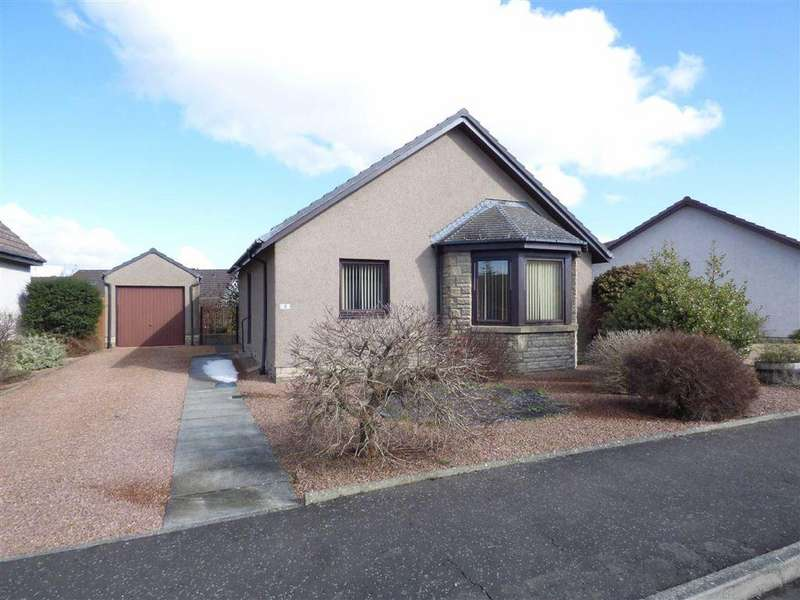2 Bedrooms Bungalow for sale in Campbell Crescent, Cupar, Fife
