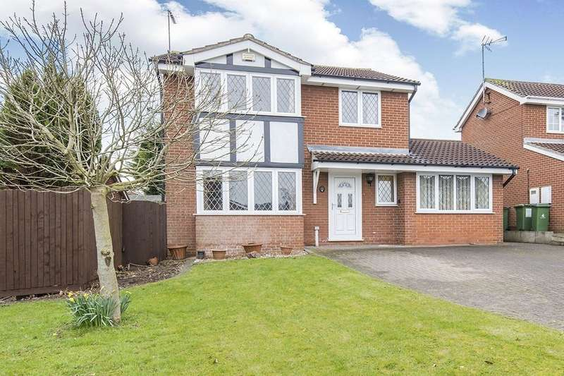 4 Bedrooms Detached House for sale in Squirrel Close, Narborough, Leicester, LE19