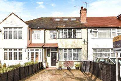 4 Bedrooms Terraced House for sale in Queen Anne Avenue, Bromley