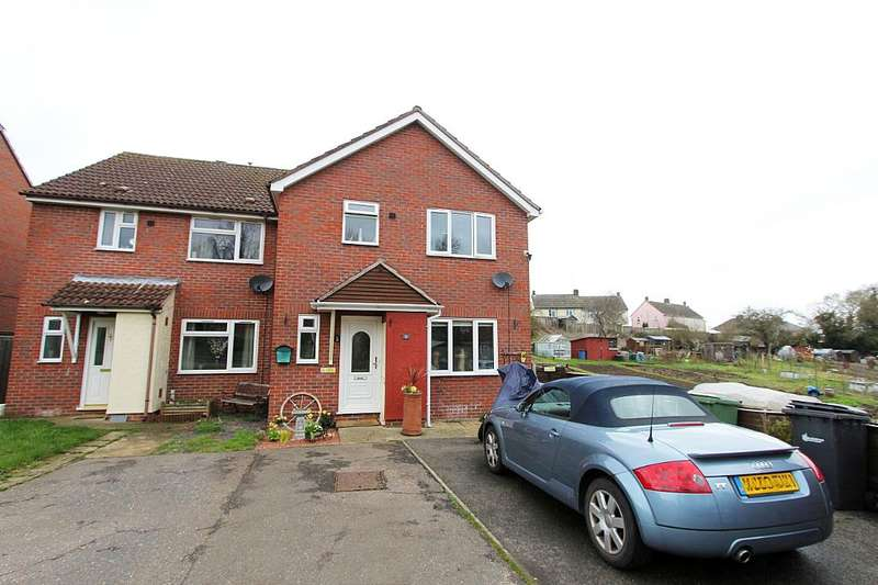 3 Bedrooms Semi Detached House for sale in Holmes Road, Halstead, Essex, CO9 1NW