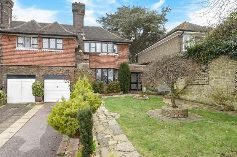 3 Bedrooms Semi Detached House for sale in Tongdean Avenue Hove East Sussex BN3