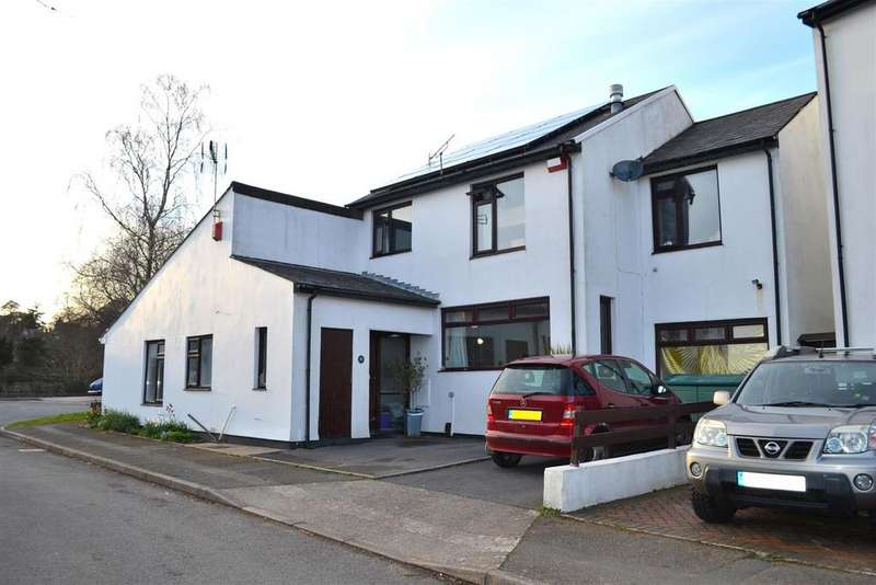 3 Bedrooms Semi Detached House for sale in Clevedon Court, Uplands, Swansea