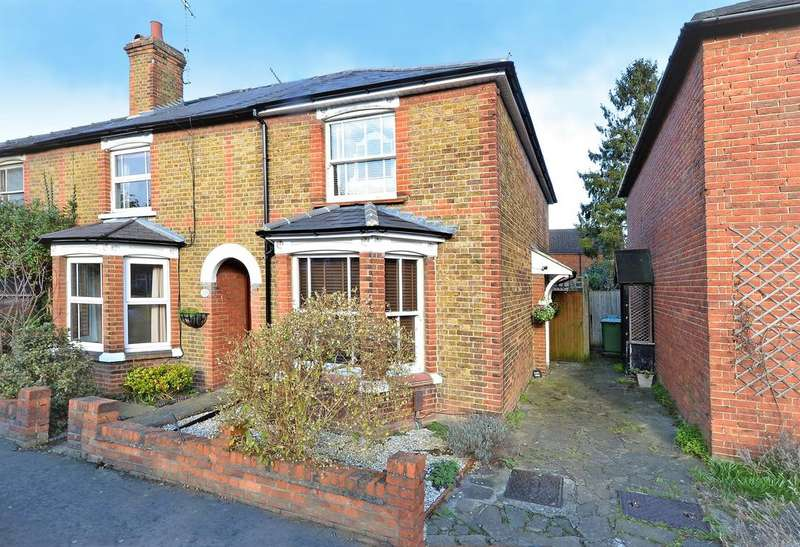 2 Bedrooms Semi Detached House for sale in Anyards Road, Cobham KT11