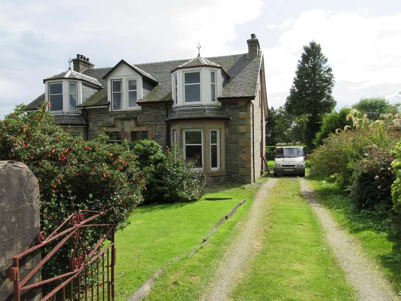 4 Bedrooms Semi Detached House for sale in 47 Clyde Street, Dunoon, PA23 8EQ
