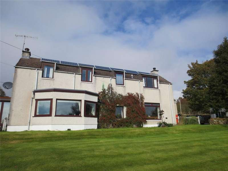4 Bedrooms Detached House for sale in Tigh Ban, Bunloit, Drumnadrochit, IV63