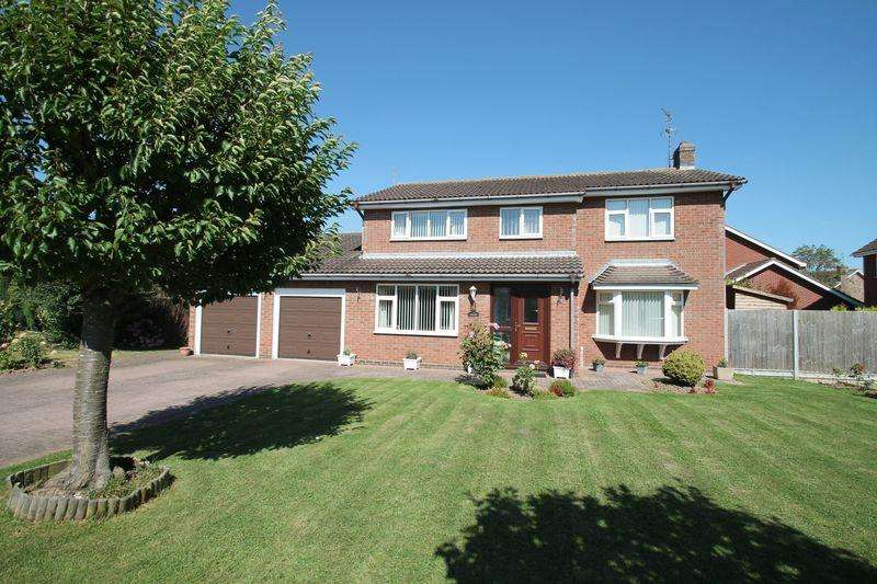 4 Bedrooms Detached House for sale in Boyfields, Quadring
