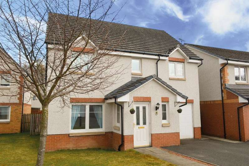 4 Bedrooms Detached House for sale in Munnoch Way, Plean, Stirling, FK7 8GA