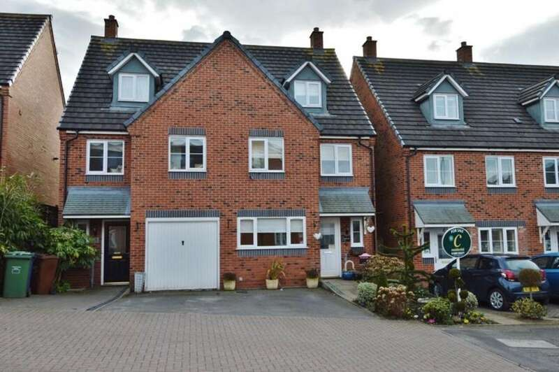 3 Bedrooms Semi Detached House for sale in The Lindens, Rugeley