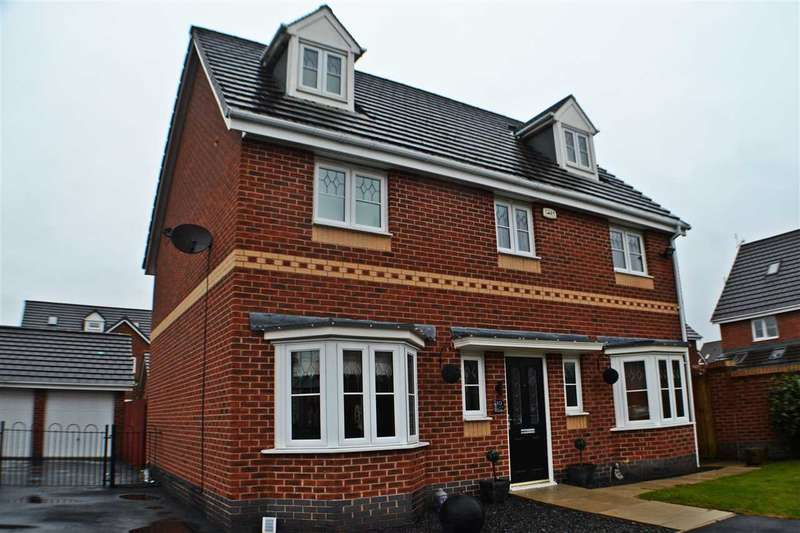 5 Bedrooms Detached House for sale in Baltimore Gardens, Chapelford, Warrington