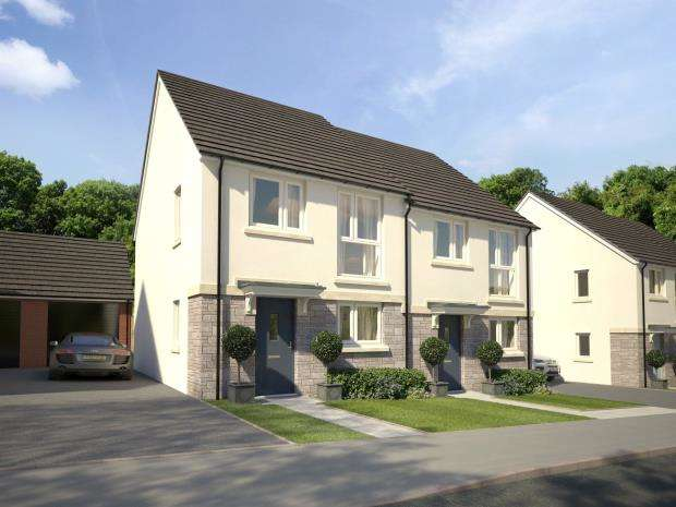 2 Bedrooms Semi Detached House for sale in Godrevy Parc, Hayle, Cornwall