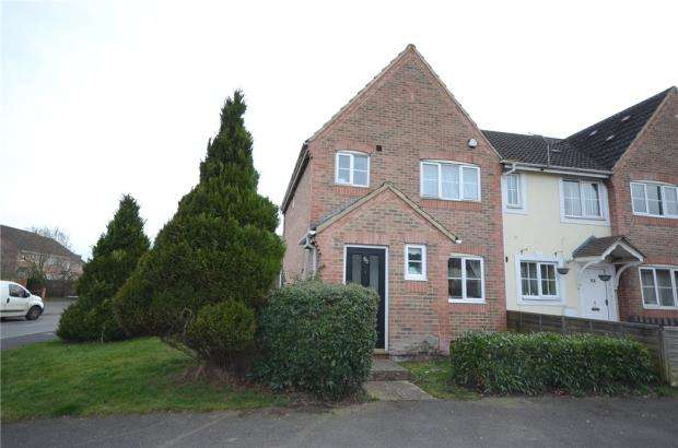 3 Bedrooms End Of Terrace House for sale in Redan Road, Aldershot, Hampshire