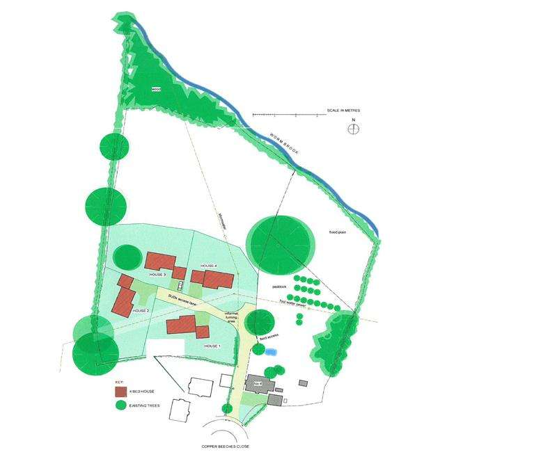 Land Commercial for sale in Copper Beeches Close, Much Dewchurch, Hereford