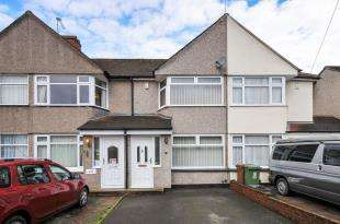 2 Bedrooms Terraced House for sale in Burns Avenue, Sidcup, .