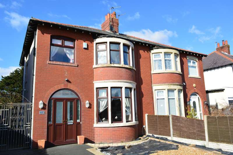 3 Bedrooms Semi Detached House for sale in Squires Gate Lane, South Shore, Blackpool, FY4 2NH