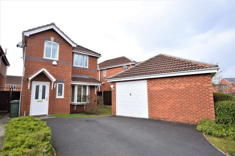3 Bedrooms Detached House for sale in Goodwood Drive, Stockport