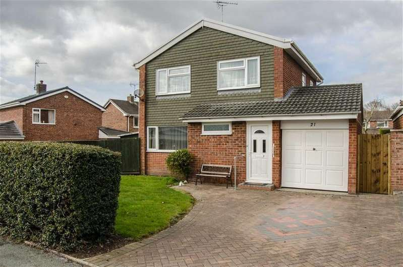 3 Bedrooms Detached House for sale in Fir Tree Avenue, Westminster Park, Chester, Chester