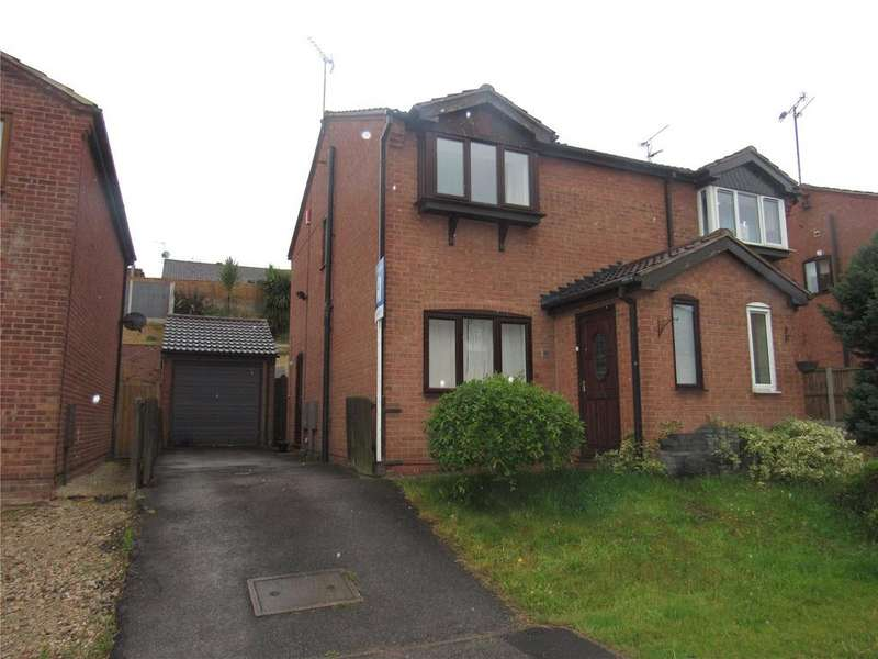 2 Bedrooms Semi Detached House for rent in Little Hollies, Forest Town, Nottinghamshire, NG19