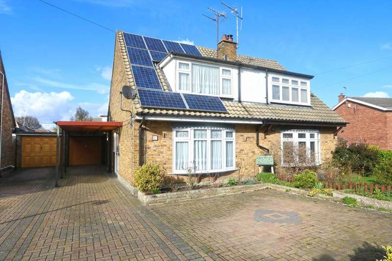 3 Bedrooms Semi Detached House for sale in Nicholson Road, Thundersley SS7