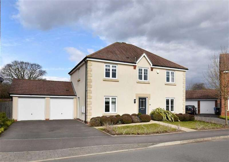4 Bedrooms Detached House for sale in 38, Wenlock Rise, High Town, Bridgnorth, Shropshire, WV16