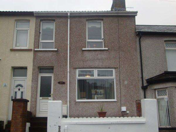 2 Bedrooms Terraced House for sale in Marlborough Road, Six Bells, NP13 2PH