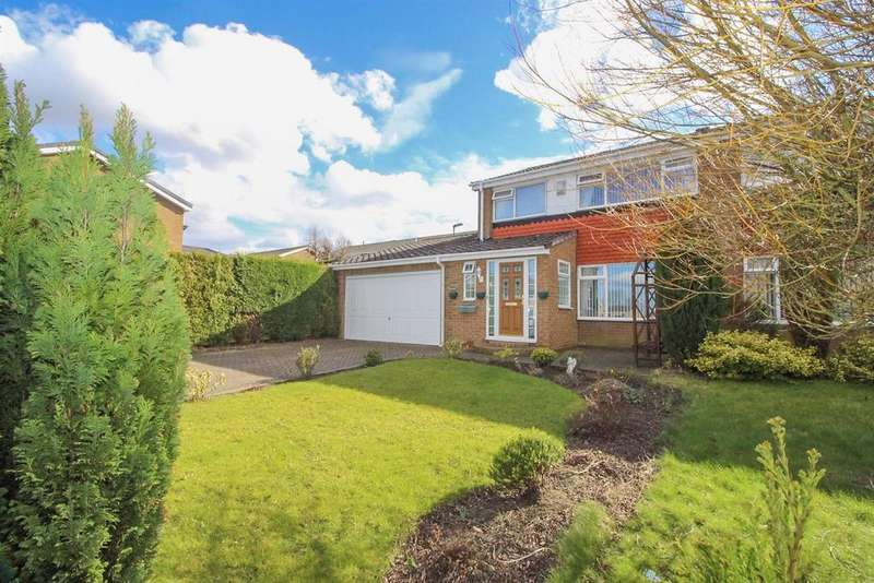 3 Bedrooms Semi Detached House for sale in Ladybank, Chapel Park, Newcastle Upon Tyne