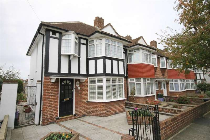 3 Bedrooms End Of Terrace House for sale in Oxford Close, MITCHAM, Surrey