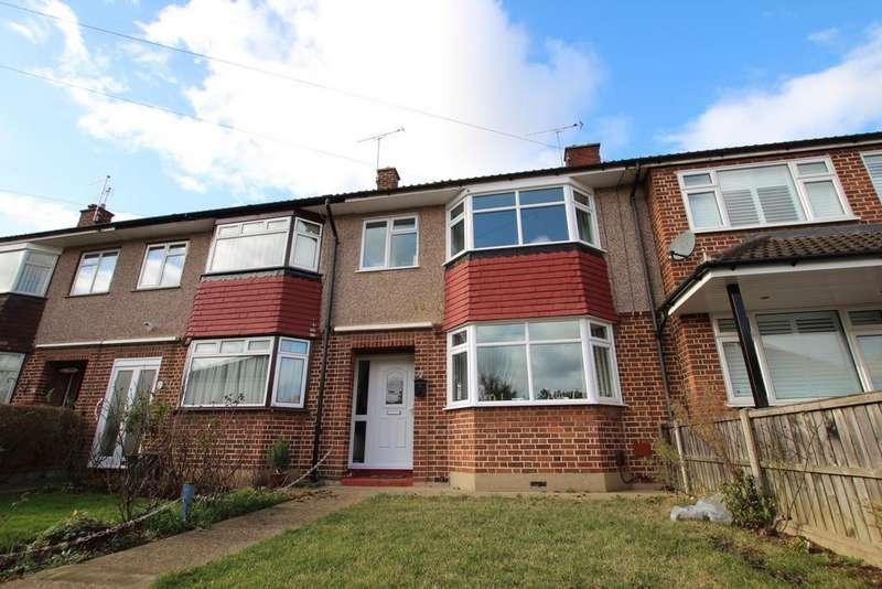 3 Bedrooms Terraced House for sale in Dorchester Avenue, Hoddesdon, EN11
