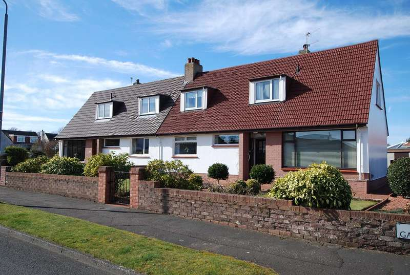 3 Bedrooms Semi Detached Bungalow for sale in 3 Elm Gardens, Troon, KA10 7AQ
