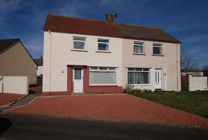 3 Bedrooms Semi Detached House for sale in 19 Whiteside Terrace, Prestwick, KA9 1DU