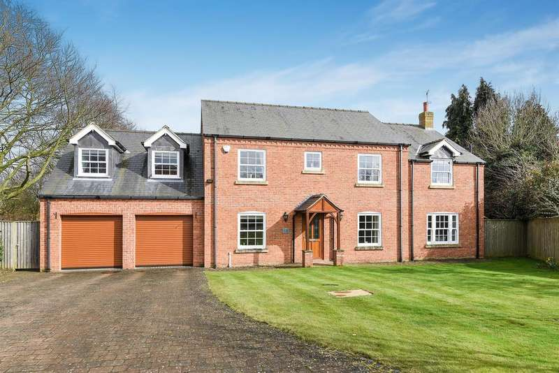 4 Bedrooms Detached House for sale in Southview Gardens, South Road, Tetford, LN9 6QB