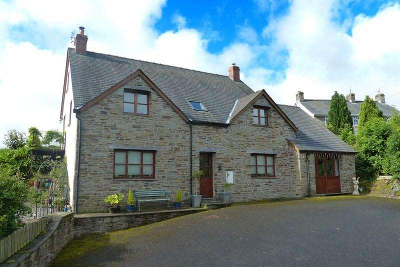 4 Bedrooms Detached House for sale in Bryncelyn, Gwenddwr, Builth Wells