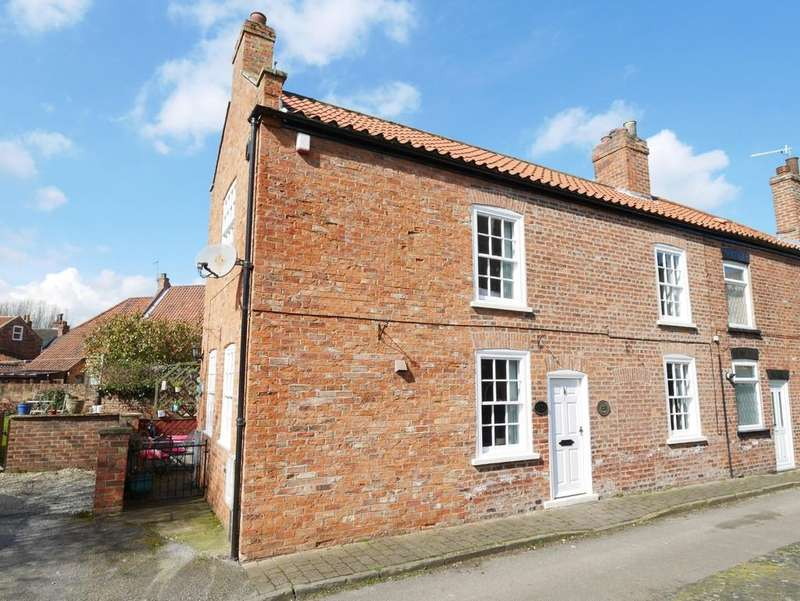 2 Bedrooms End Of Terrace House for sale in Parsons Lane Howden