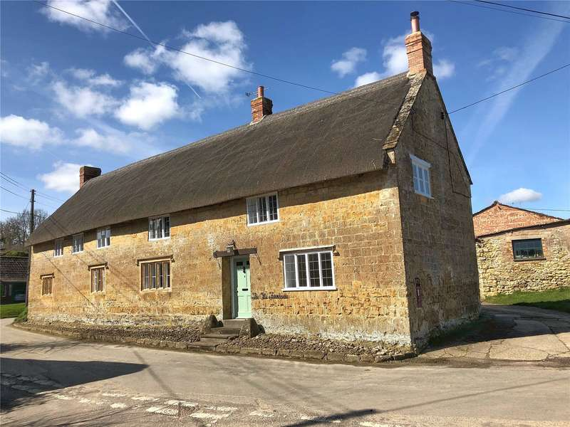 4 Bedrooms Detached House for sale in Allowenshay, Hinton St. George, Somerset, TA17