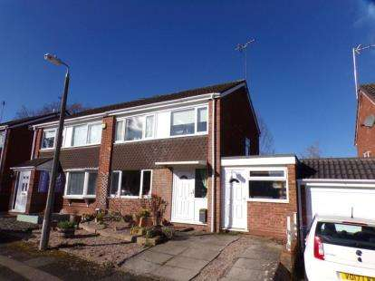 3 Bedrooms Semi Detached House for sale in Caynham Close, Redditch, Worcestershire