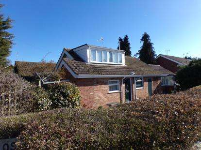 2 Bedrooms Bungalow for sale in Brookside Close, Stratford Upon Avon