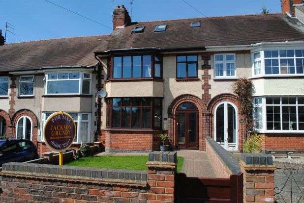 3 Bedrooms Terraced House for sale in Boughton Green Road, Kingsthorpe, Northampton NN2 7SU