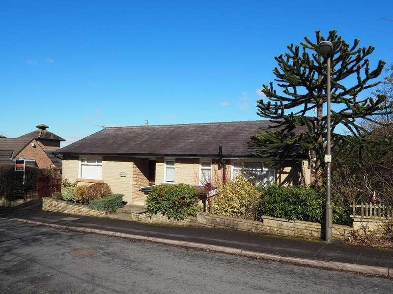 3 Bedrooms Detached Bungalow for sale in Jubilee Gardens, New Mills, High Peak, Derbyshire, SK22 4PL