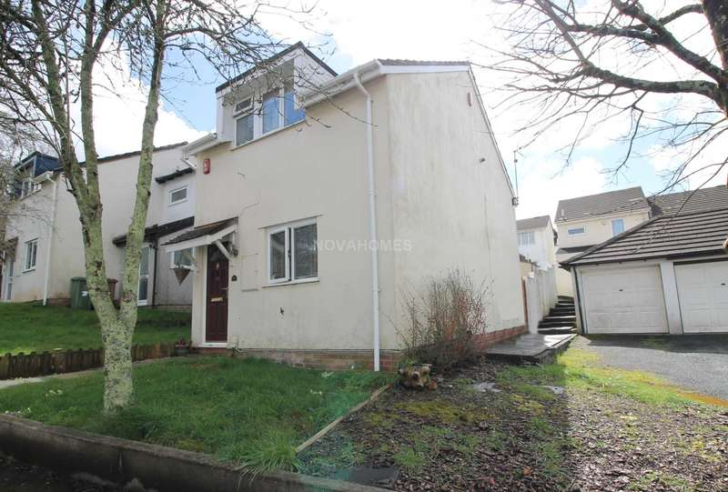 2 Bedrooms End Of Terrace House for sale in Lake View Close, Holly Park, PL5 4LT